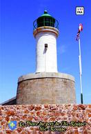 Set 6 Cartes Postales, Phares, Lighthouses Of Europe, France, Ille Rousse, Le Phare Du Port De L'Ille Rousse - Vuurtorens