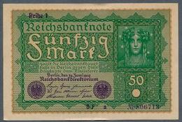 """P66 Ro62a""""a"""" DEU-71a""""a""""   50 Mark   AUNC NEUF- - [ 3] 1918-1933 : República De Weimar"""