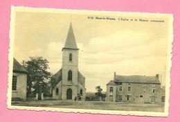C.P. Haut-le-Wastia  = L'  Eglise Et La Maison Communale - Anhée