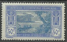COTE D'IVOIRE 1922 YT 68A** MNH - Côte-d'Ivoire (1892-1944)