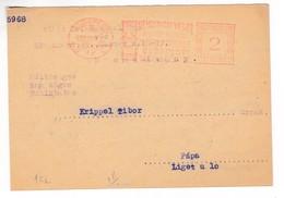 K195 Hungary Red Meter Freistempel EMA 1932 BUDAPEST 72 INTERNATIONALE MESSE FOIRE - ATM/Frama Labels