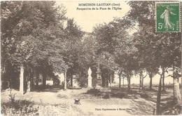 Dépt 32 - MOMUSSON-LAGUIAN - Perspective De La Place De L'Église - (Photo Capdecomme) - France