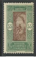 DAHOMEY 1938 - YT 88** - Dahomey (1899-1944)