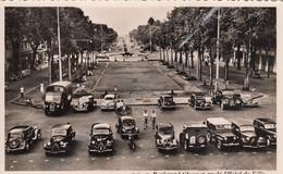SAÏGON (Vietnam): Boulevard Charner Vu De L'Hôtel De Ville (véhivules Anciens) - Viêt-Nam