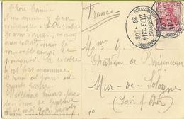 Ambulant STRASSBURG-MOLSHEIM-MARKIRCH Zug  2114  28-9-1908  ***superbe*** - Alsazia-Lorena