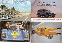 AUTO - 24 Heures Du Mans - Nelson Piquet - Oxidizing Agent - Rallye Des Pharaons 1989 (Toyota) (117917) - Sport Automobile