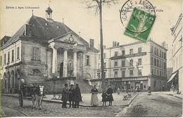 Ambulant LA ROCHELLE A ANGOULEME 4/1/1913 - Francia