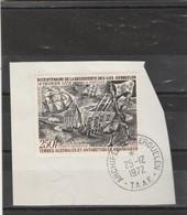 TAAF Yvert PA 28 Oblitéré Sur Fragment  Archipel Des Kerguelen 25/12/1972 - Iles Kerguelen - Terres Australes Et Antarctiques Françaises (TAAF)