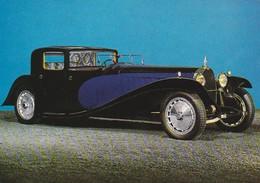 CP Auto Bugatti Royale 1928 T41 Coupé Napoléon Mulhouse Musée National Automobile Schlumpf - Passenger Cars