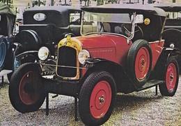 CP Auto Citroën F Torpédo 5CV 1924 Mulhouse Musée National Automobile Schlumpf - Passenger Cars