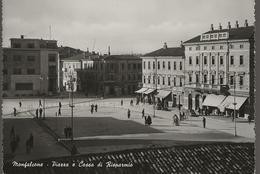 Monfalcone - Piazza E Cassa Di Risparmio - H6027 - Altre Città
