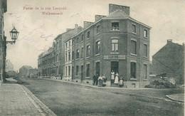 Carte Ayant Voyagé Et Représentant Une Partie De La Rue Léopold á WELKENRAEDT. - Welkenraedt
