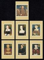 GREAT BRITAIN 1997 King Henry VIII & Wives: Set Of 7 PHQ Postcards MINT/UNUSED - 1952-.... (Elizabeth II)