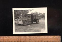 Photographie Originale C.1950 Camion CHEVROLET Entreprise ORTAL à DAKAR Sénégal Afrique Africa Truck LKW - Automobili