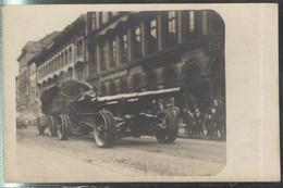 Carte Photo Entrée Du 87ème Régiment D'Artillerie Lourde à Mayence Le 16.12.18 - WW1 - War 1914-18
