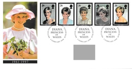 GREAT BRITAIN 1998 Diana, Princess Of Wales Commemoration: First Day Cover CANCELLED - 1991-2000 Dezimalausgaben
