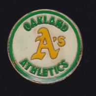 61647-pin's.les Oakland Athletics, Franchise Mineure De La Ligue De Baseball - Baseball
