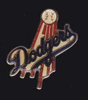 61658-pin's-Les Dodgers De Los Angeles Sont Une Franchise De Baseball .signé NFL.1988 - Baseball