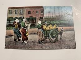 Lot De 10 CP Belgique Laitières. Colorisée  Non Circulé Série 275 - Ambachten