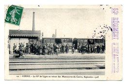 Cosne Le 83 Eme De Ligne Au Retour Des Manoeuvres - Cosne Cours Sur Loire