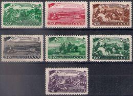 Russia 1948, Michel Nr 1229-35, MNH OG - Unused Stamps