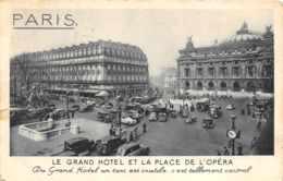 Paris - Le Grand Hôtel Et Place De L'Opéra - Zonder Classificatie