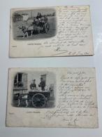 2 Cp Laitière Flamande 1901 - Ambachten