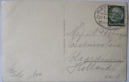 Bahnpost Halberstadt Tanne, AK Blankenburg 1937 (46003) - Briefmarken