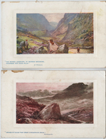 """Lot De 2 CPA - OILETTE """"O'ER HILL AND DALE"""" No 9703 - Other"""