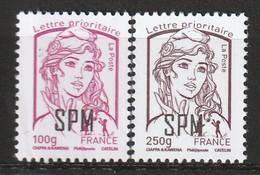 Saint Pierre Et Miquelon - N°1101/2 ** (2014) Série Courante - Nuovi