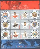 Canada 2001 - National Hockey League Stars - Mi.ms 55  - Used - 1952-.... Règne D'Elizabeth II
