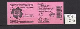 Carnet Marianne De CIAPPA Lettre Prioritaire N° 851 C13 - Carnets