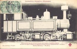 Locomotive Tender A 2x4 Roues Accouplees - Trains