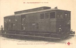 Tracteur Electrique, 2e Type, En Service Des Invalides A Versailles - Trains