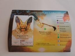 Cuba 2019 Murcielago Chauve-souris BLOC - Cuba