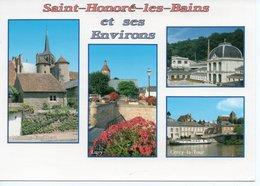 SAINT HONORE LES BAINS - MOULIN ENGILBERT - LUZY - L'ETABLISSEMENT THERMAL - LE CANAL A CERCY LA TOUR - Saint-Honoré-les-Bains