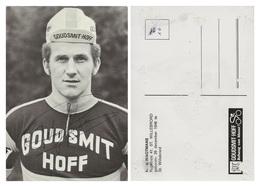 CARTE CYCLISME RINI WAGTMANS SIGNEE TEAM GOUDSMIT 1972 ( LEGEREMENT DETERIORÉE AL DORSO,VOIS PHOTO DELL ANNONCE ) - Cyclisme