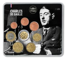 France 2020 : Miniset 'Charles De Gaulle' (500 Exemplaires Numérotés) - DISPONIBLE EN FRANCE - France