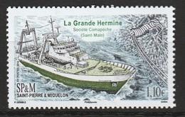 Saint Pierre Et Miquelon - N°1150 ** (2016) Chalutier - St.Pierre Et Miquelon