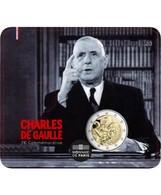 France 2020 : 2 Euro Commémorative 'Charles De Gaulle' (BU Sous Blister Numéroté) - DISPONIBLE EN FRANCE - Francia
