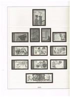 LINDNER-T - FEUILLES PRE-IMPRIMEES OCCASION - BELGIQUE  2003 - Albums & Reliures