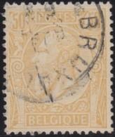 Belgie     .    OBP    .     51   .      O      .         Gebruikt   .   /    Oblitéré - 1883 Leopold II