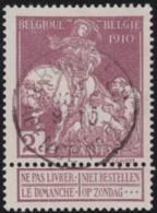 Belgie     .    OBP    .     89     .      O      .         Gebruikt   .   /    Oblitéré - 1910-1911 Caritas