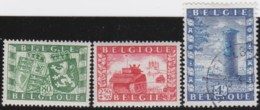 Belgie     .    OBP    .    823/825  (825: O)     .     **      .        Postfris   .   /   .   Neuf  SANS Charniere - Bélgica