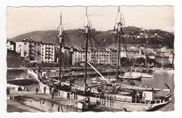 Corse Du Sud AJACCIO N°4627 Le Port En 1959 Voilier Yacht 3 Mâts Ancien à Quai - Ajaccio