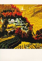 QSL - Radio Peking - Beijing China - Bergbauern Getreide - Propaganda - 1979 (46984) - Radio