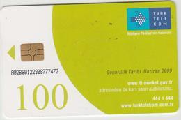 "Turkey Phone Card ""Turk Telekom 100"" - Turchia"