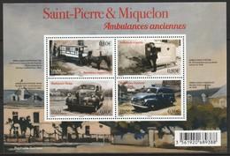 Saint Pierre Et Miquelon - N°F1166 ** (2016) Ambulances Anciennes - St.Pierre Et Miquelon