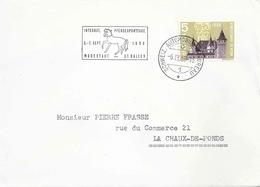"""Sonderstempel  """"Internat. Pferdesporttage St.Gallen""""        1958 - Suisse"""