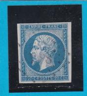 N° 14A  PC 3588  VILLARS-les-DOMBES  ( 01 )  AIN  - REF 14615  - IND 13 - COTE 100€ - 1853-1860 Napoleon III